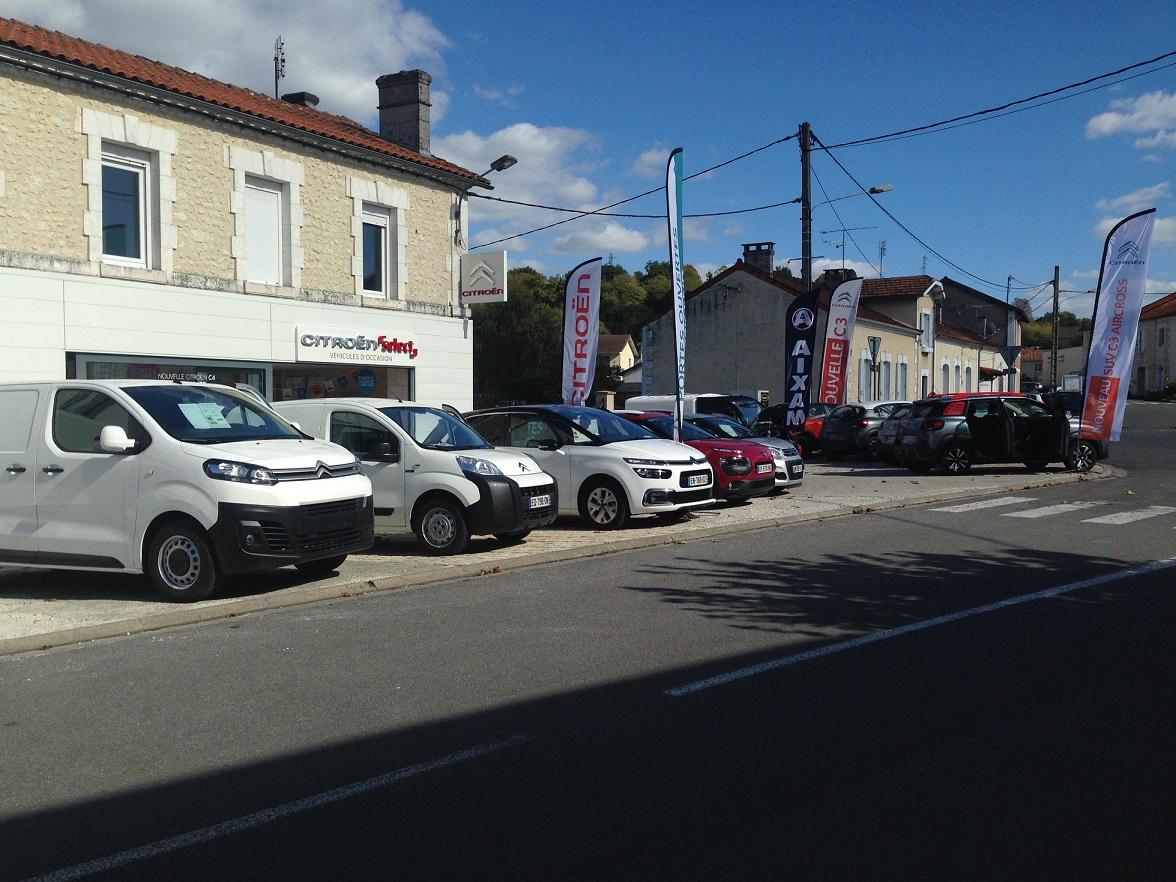 Vente, carrosserie, réparation de véhicule à Chalais (16)